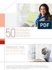 50 Technology Questions Accountants