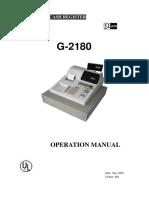 G 2180 Operation
