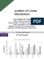 2014-11-17 CE35000 Linear Momentum