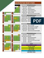 2015-16 SCSS School Calendar