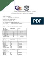 Ficha Padrao Para Coleta de Dados - Rv-1
