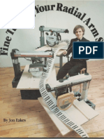 Fine Tuning Your Radial Arm Saw - Eakes