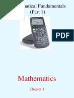 Fundamentos Matematica