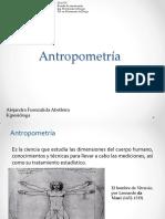 Antropometría, Principios ergonomía