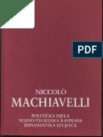 Machiavelli, Izabrano djelo, prvi tom