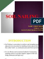 52985702 Soil Nailing Ppt