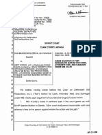 Bilzerian v. Dirty World, et al. - Order Granting in Part Defendant s Motion for Costs Attorneys Fees and Damages U