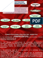 Constitucionalización Del Derecho Administrativo (1)
