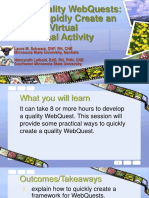 quick quality webquests mn elearning summit