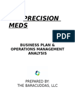 business plan  precision meds -2