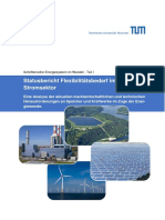 Statusbericht Flexibilitätsbedarf im Stromsektor