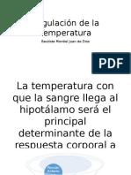 Regulación de La Temperatura