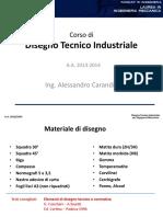 Disegno Tecnico Industriale Slides