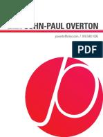 JP Overton's Portfolio