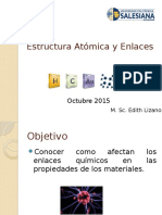 Estructura Atómica y Enlaces