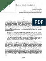 Comesana, Manuel - La teoría de la verdad en Habermas.pdf