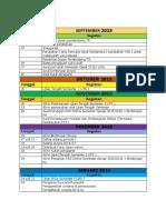 Kalender Akademik Mahasiswa Gasal 20152016