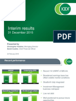 Ifl 1h2016 Results Presentation