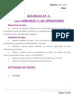 Secuencia 2- Operaciones