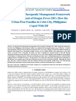 Constructing Therapeutic Management Framework in the Treatment of Dengue Fever (DF)