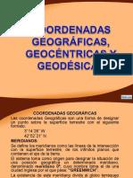 Diapositiva de Geodesia, Trabajo