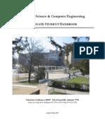 3 UA CSCE Graduate Handbook 2009