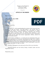 Draft Letter RE PYS Letter to the Brgys