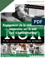 Engagement Communauté Marocaine - Cas #JusticePourRay FORCINET
