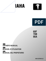 60F 70B 90A Manual Yamaha