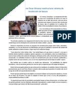03.05.16 Propone Oscar Almaraz Reestructurar Sistema de Recolección de Basura