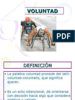 LA VOLUNTAD.ppt