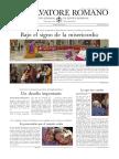 El Observador Romano 20 Marzo 2015