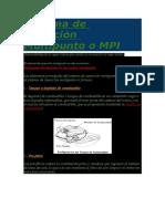 Sistema de Inyección Multipunto o MPI