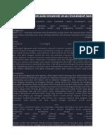 Identifikasi Kurkumin Pada Temulawak Secara Kromatografi Lapis Tipis