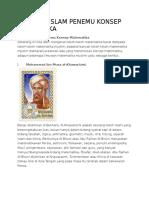 Ilmuwan Islam Penemu Konsep Matematika