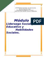 Modulo Liderazgo Social
