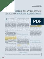 Enseñar ciencia con ayuda de una historia de medicina experimental