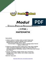 [2016] Modul Matematik UPSR  Perak Excellent [ PPD Perak].docx