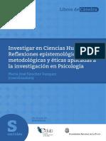 Sanchez Libro Metodologia
