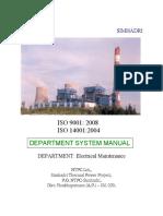 101 EMD Departmental ISO Manual 2013-14 Final