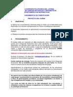 Proyecto Fundamentos de Computacion II 2014