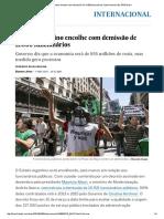 Estado Argentino Encolhe Com Demissão de 11