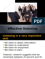 Tips for Effective Listening