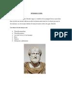 Ensayo Aristoteles