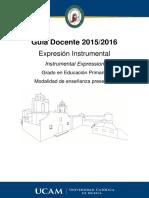 Expresion Instrumental Presencial