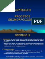 Capitulo 03 - Procesos Geomorfologicos