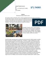 Crónica humanidades II nuevo