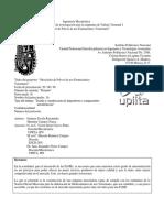 Protocolo Mezcladora Upiita Ipn