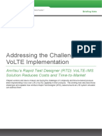 Rtd Volte Ims Briefing Note