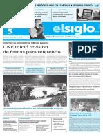 Edición Impresa El Siglo 05-05-2016